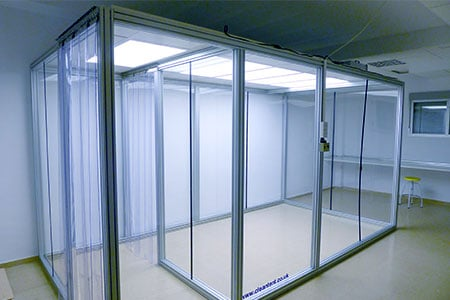 CC 4824 - Modular Cleanroom by Clean Environments
