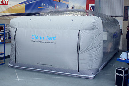 Clean Tent 1700 | Portable cleanroom by Clean Environments