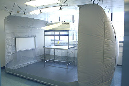 Clean Tent 675 | Portable cleanroom by Clean Environments