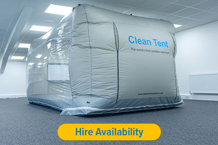 Clean Tent 750 | Portable cleanroom by Clean Environments