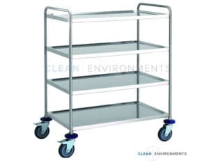 Four tier trolley