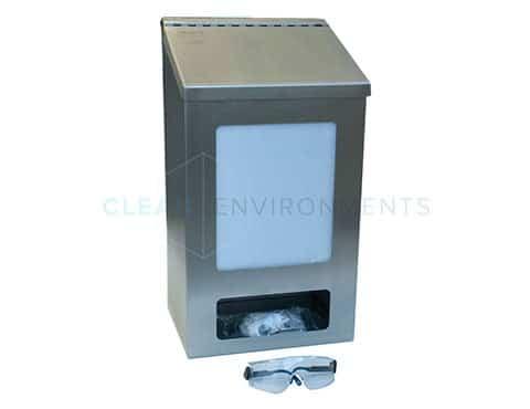 Safety glasses dispenser