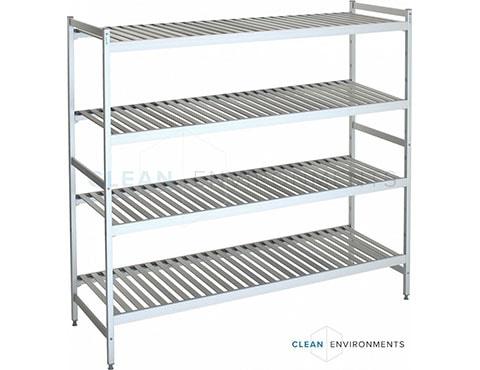 slatted shelves