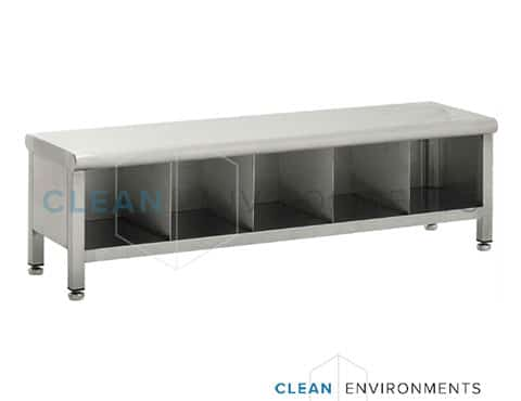 step over bench with shoe compartments