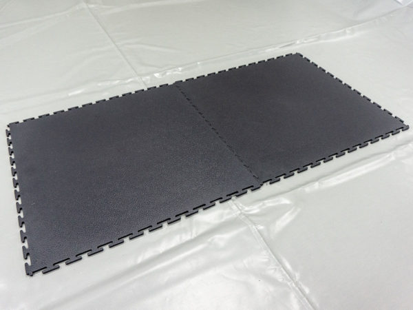 Connected anti-static floor system